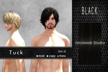 Uw.st   Tuck-Hair  Black