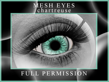 Mesh Eyes Chartreuse