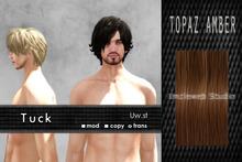 Uw.st   Tuck-Hair  Topaz amber