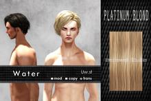Uw.st Water-Hair Platinum blond