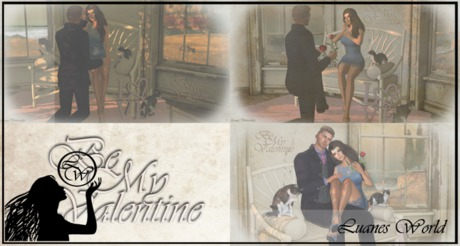 :LW: Poses - Be my Valentine - multiple pose prop - PROMO