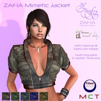 ZAFIA Mimetic Jacket Fitmesh Maitreya