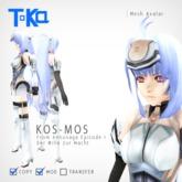 KOS-MOS Avatar from Xenosaga Episode I