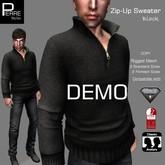 PierreStyles SWEATER with ZIP DEMO: Classic, AESTHETIC, SLINK