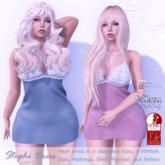 Perch - Stephi Dress - Sky