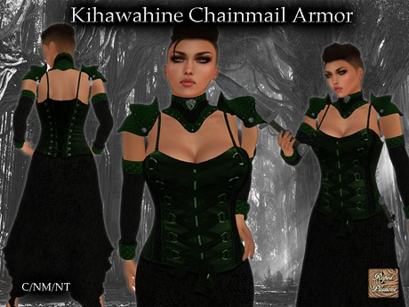 Second Life Marketplace Kihawahine Green Black Dragon Armor A wide variety of dragon armor options are available to you, such as material, use, and theme. black dragon armor