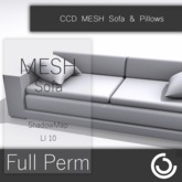FULLPERM MESH Sofa & Pillows