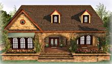 Rose Cottage House Part Mesh