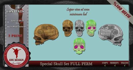 Special Skull Set Full Permission EFE DESIGN