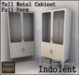 [INDO] Tall Metal Cabinet Full Perm -1LI