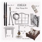 [ zerkalo ] Vintage Entryway - Old Window Key-holder