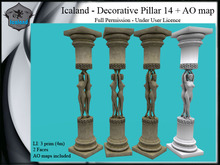 Icaland - Decorative Pillar 14 + AO map