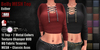 GAS [Belly MESH Top Esther - 11x2 Colors with HUD]