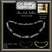 Beloved Jewelry : Plate Link Necklace (Texture Change Metals) UniSex/Men's/Ladies Necklace