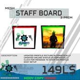 [.:MBS:.] Staff Board *BOX