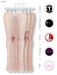 GAWK! White Dotted Nylon Tights| BoM & Appliers for Maitreya, Slink Physique, TMP & Omega System