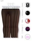 GAWK! Black Nylon Leggings   BoM & Appliers for Maitreya, Slink Physique, TMP & Omega System