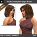 A&A Chrissy Hair Light Brown (Special Color). Medium length womens mesh hairstyle. Promo!