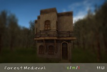 Forest Medieval House