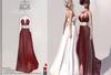 :::KC::: Stasey Dress Red