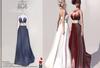 :::KC::: Stasey Dress Blue