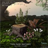 -Hanaya- Fairies Garden Seat [mesh]
