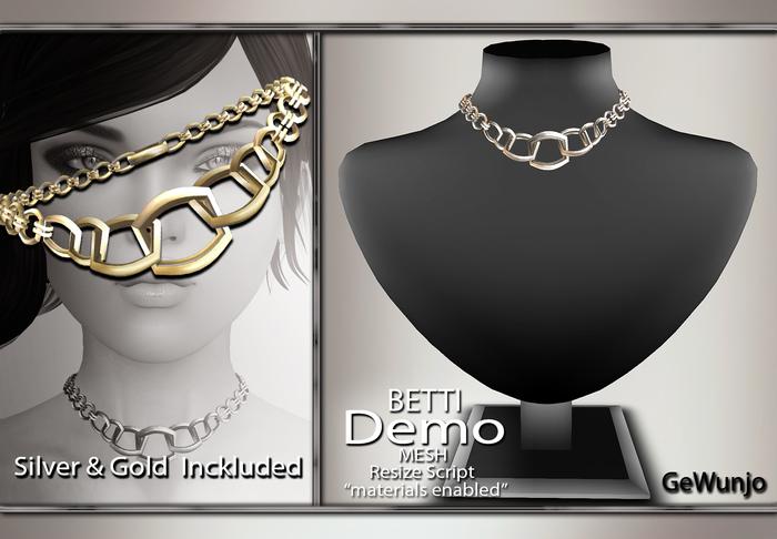 GeWunjo : BETTI necklace DEMO