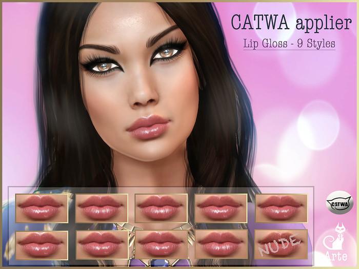 Arte - Catwa Applier - Lip Gloss Set 01 - 9 Styles
