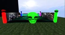 SCFI Horror Dance floor and Stage