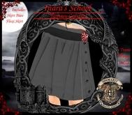 Inara's School Uniform Gryffindor pleated skirt