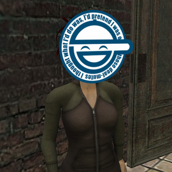Second Life Marketplace Laughing Man Ghost In The Shell