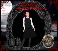 Inara's Hogwarts School Uniform Slyther Jumper-Hogwarts-Harry Potter