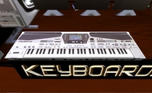 Keyboard Roland with 4 animation menu