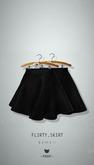 -Pixicat- Flirty Skirt (Black)