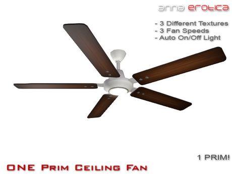 Anna Erotica - ONE Prim Ceiling Fan