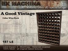 A Good Vintage - Wine Rack