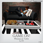 [Home Goods] - Game On! Table