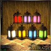 =Mirage= Rustic Lantern