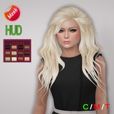 "eDeLsToRe woman mesh hair "" Mona "" all 12 color + Lola version (Special Rigged Mesh Hair)"