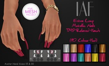 IAF Extra Long Metalic Nails (TMP Relaxed Hands)