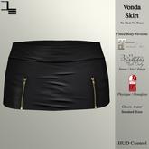 DE Designs - Vonda Skirt - Black
