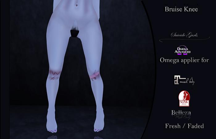 Suicide Gurls - Bruise Knee