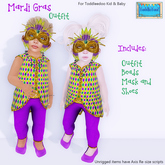 ToddleTeeZ By Z - Mardi Gras - Outfit {Boys}