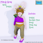ToddleTeeZ By Z - Mardi Gras - Outfit {Girls}