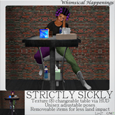 [Pose/Prop] - Strictly Sickly w/ HUD