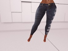 [DF]- Blue Ripped Jeans