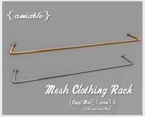 {amiable}Mesh Clothing Rack