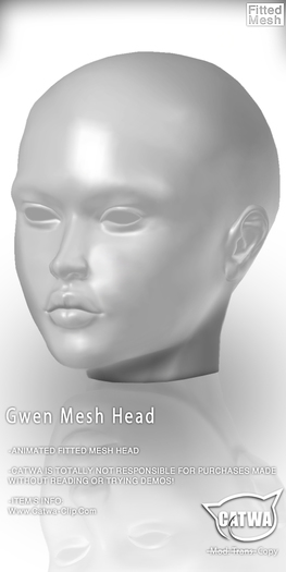 CATWA HEAD Gwen [DEMO]