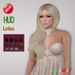 "eDeLsToRe woman mesh hair "" Alexa "" all colors (HUD)  BOX"