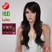 "edeLsToRe woman mesh hair "" Emma "" all colors (HUD) v2 BOX"